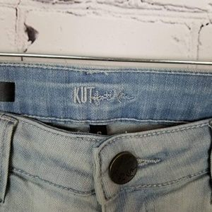 Kut from the Kloth Jeans - Kut From The Kloth|Light Wash Distressed Jeans